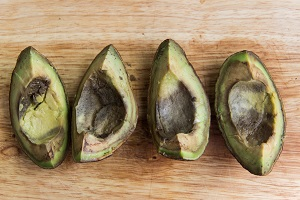 how to store avocados - bad