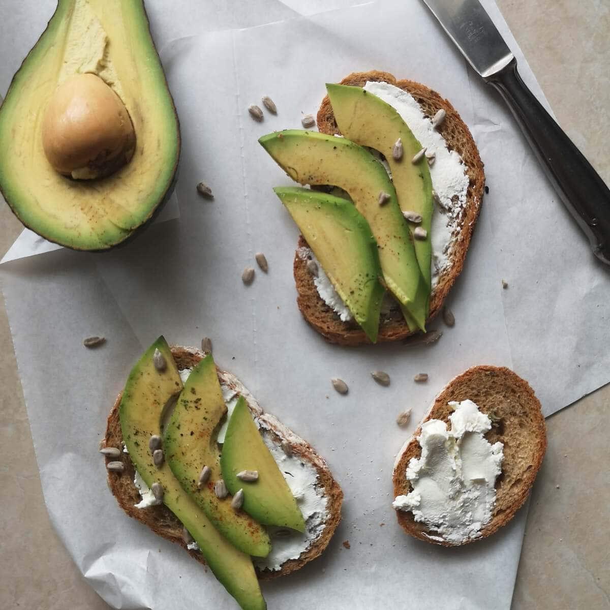 how to store avocados - freezer