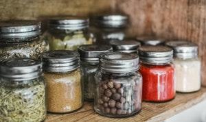 kitchen utensils list - storage