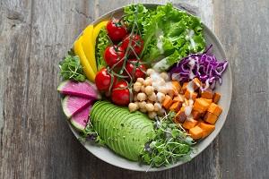 healthy snack ideas - raw veg