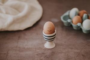 healthy snack ideas - boiled eggs
