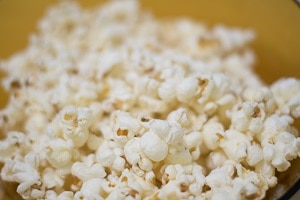 healthy snack ideas - popcorn