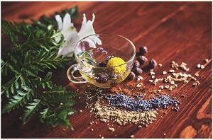 healthy snack ideas - tea