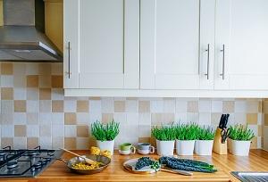 minalist grocery decluttering tips - cupboards
