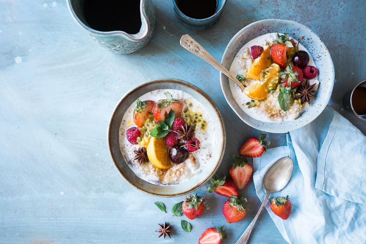 healthy breakfast grocery list - featured