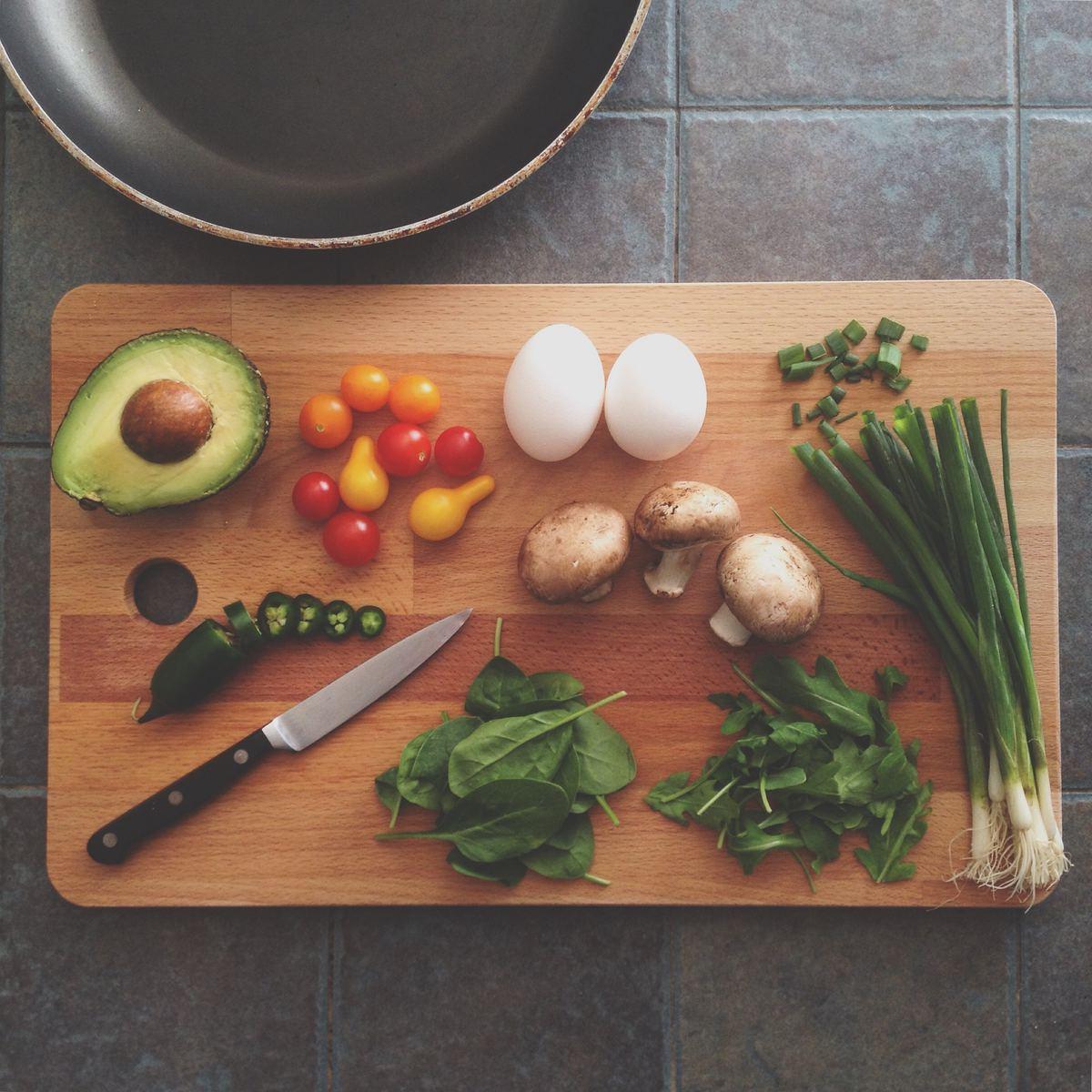 vegetarian shopping list - featured