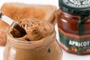 healthy grocery list - peanut butter