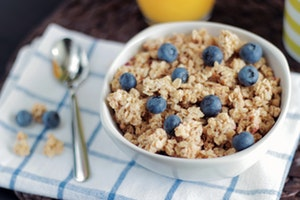 healthy grocery list - cereal