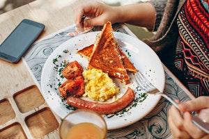 healthy breakfast grocery list - unhealthy