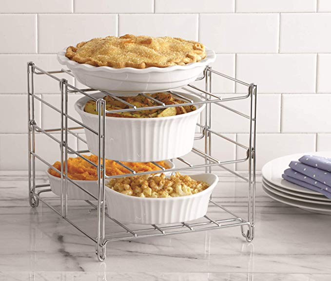 cool kitchen gadgets - 3-tier oven rack