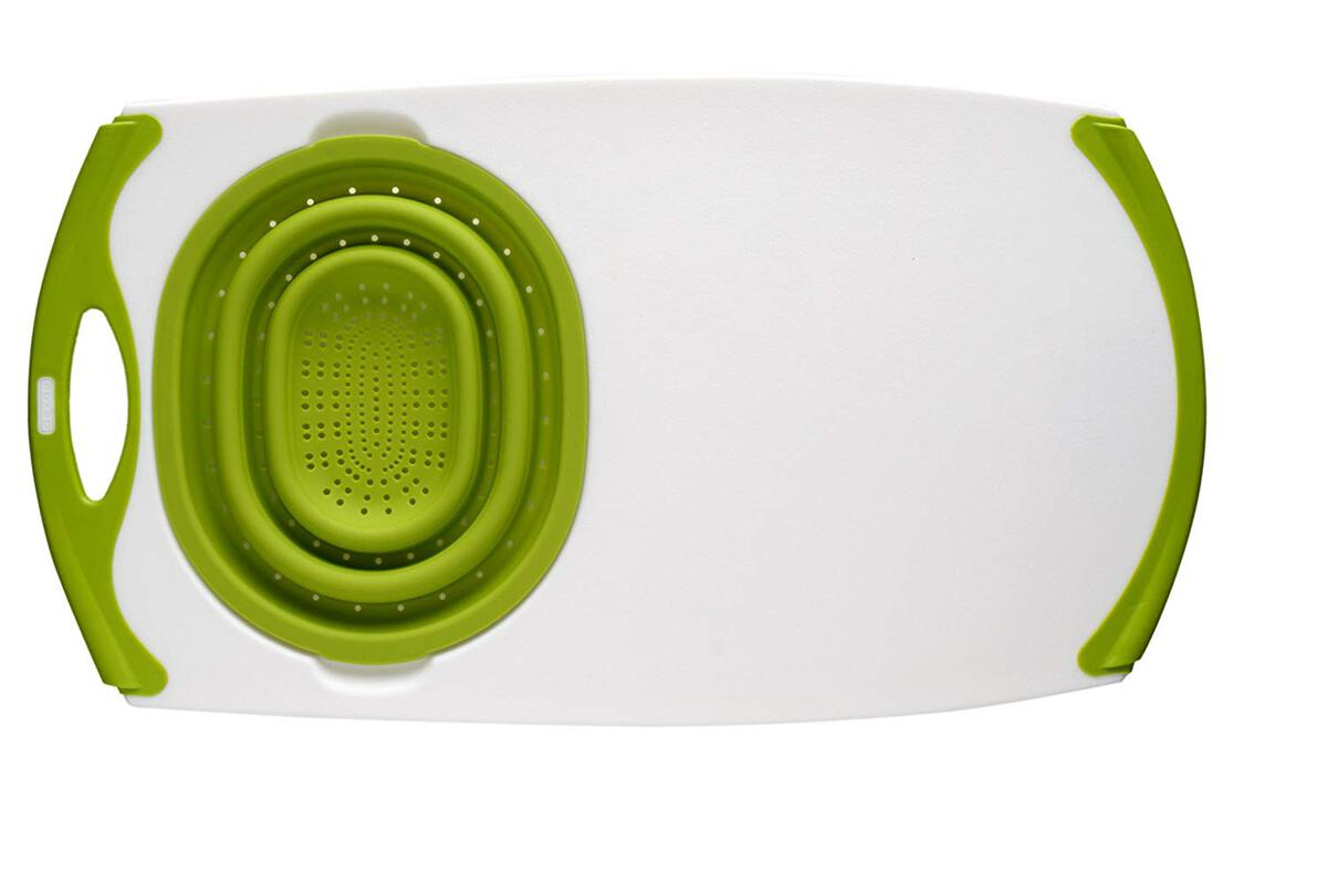 cool kitchen gadgets - over the sink chopping board