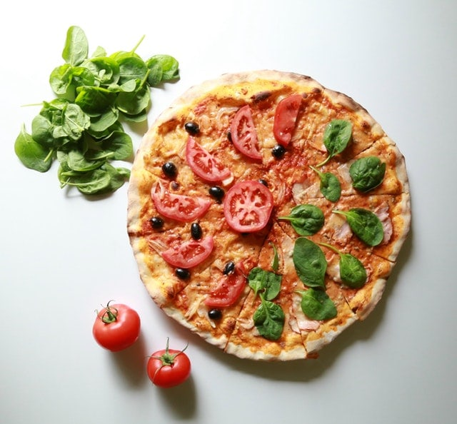 dash diet shopping list - pizza