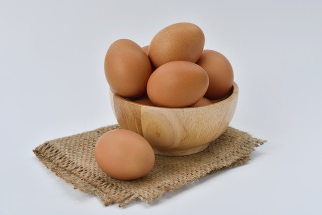 blood type o food list - eggs