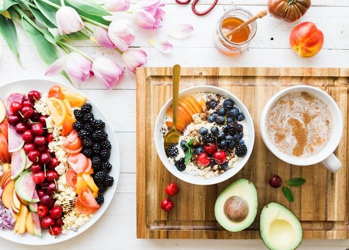 dash diet shopping list - fruit