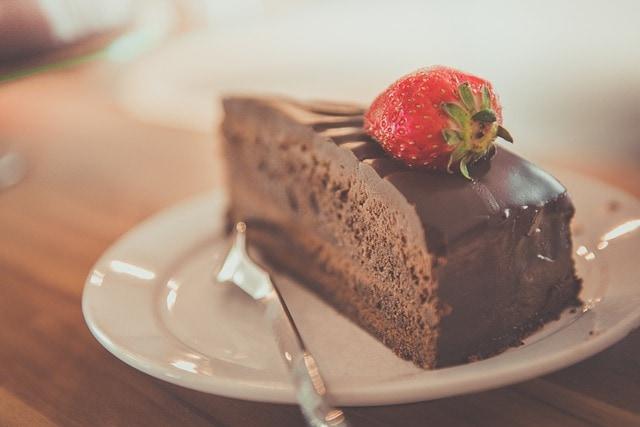 food calories list - sweet treats
