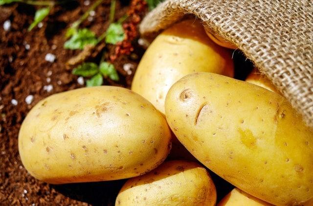blood type o food list - potatoes