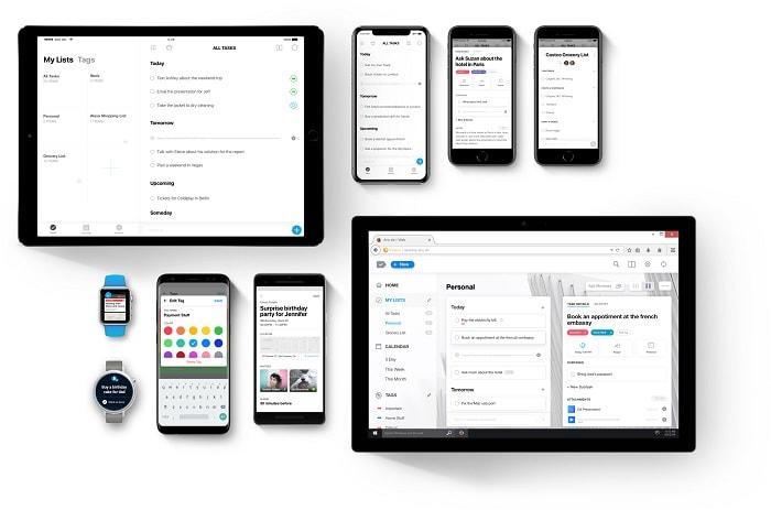 any.do - shopping list app alternatives