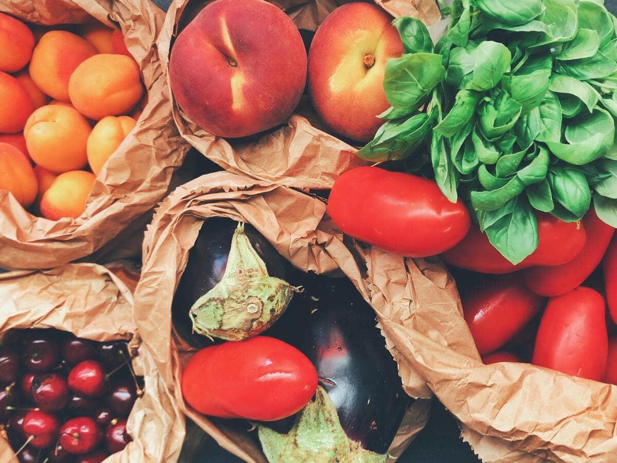 Liste de courses saine - Fruits et Légumes