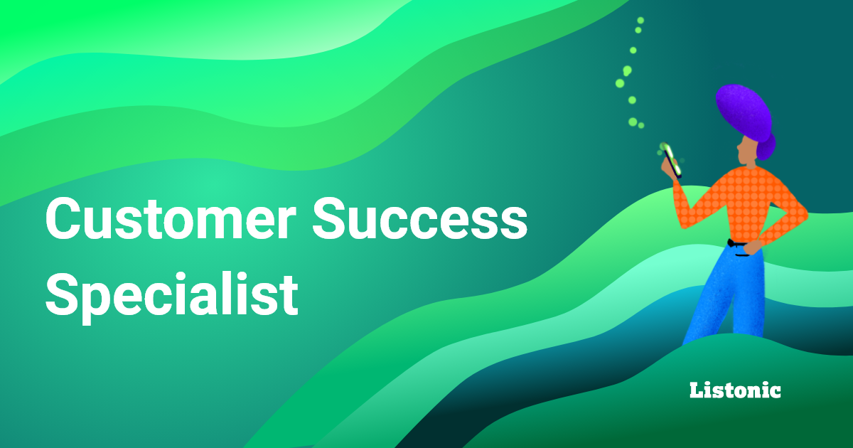Customer Success Specialist